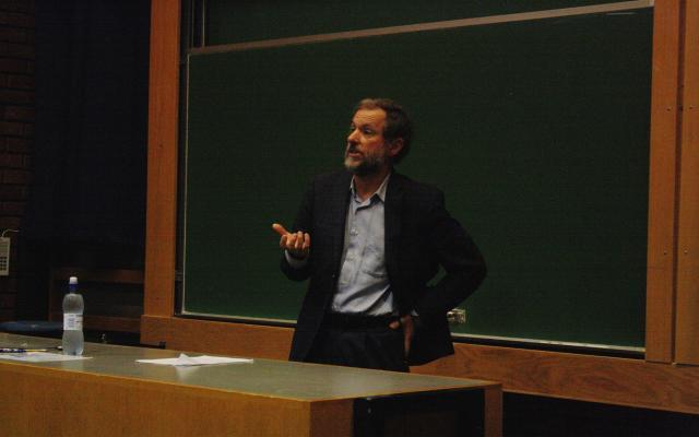 Stephen Zunes på besøk hos UiO