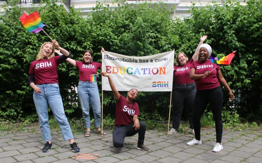 SAIH deltar i digital Pride