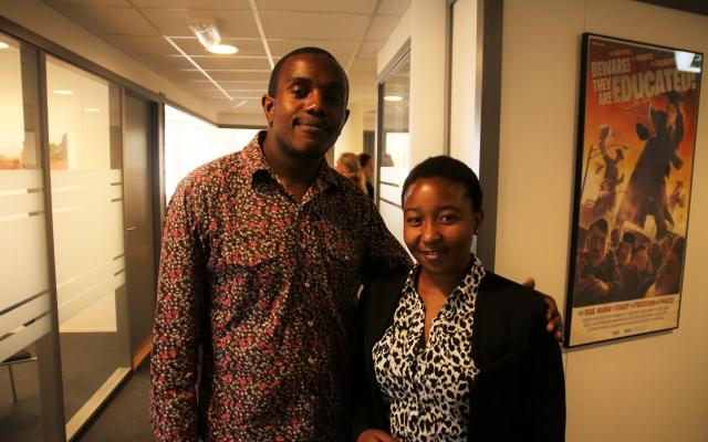 Bli kjent med Taziwa og Valerie