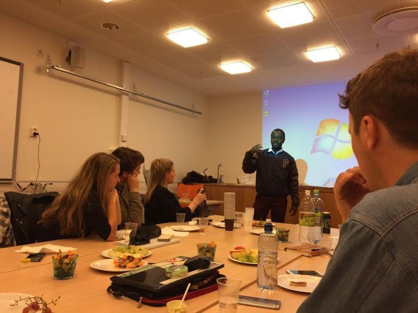 Samuel fredskorpset presentasjon