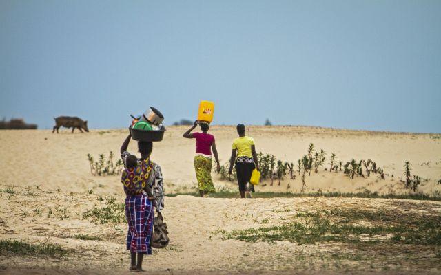 Kvinner på fremmarsj i Zambia