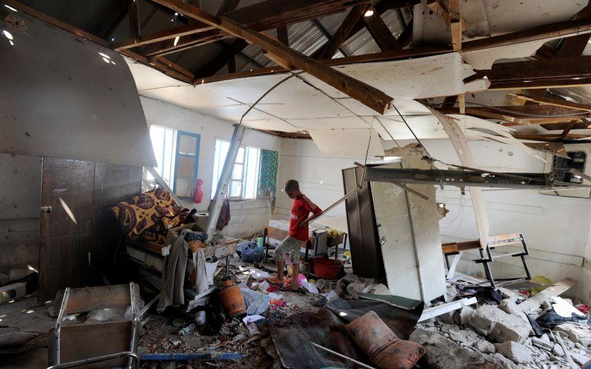 Skoler bombet, drømmer knust