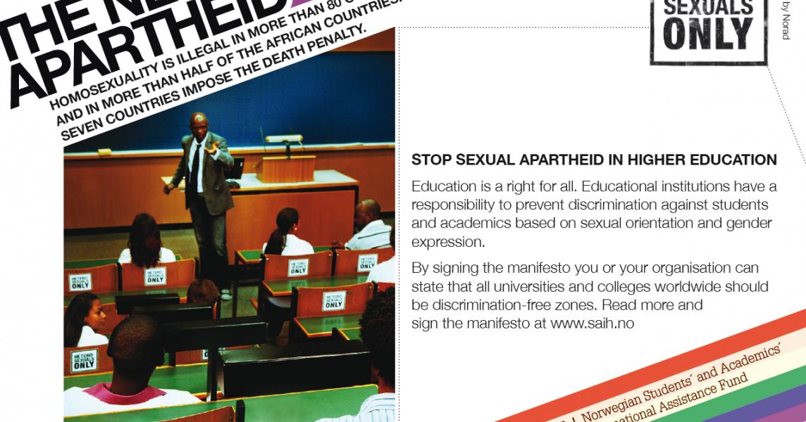 2010: STOP SEXUAL APARTHEID