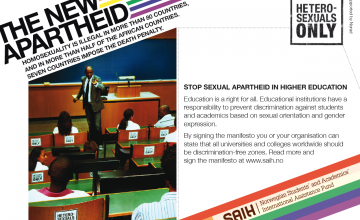 2010: STOP SEXUAL APARTHEID
