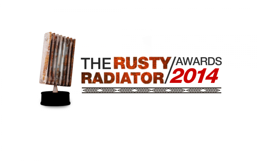 Rusty Radiator Awards 2014