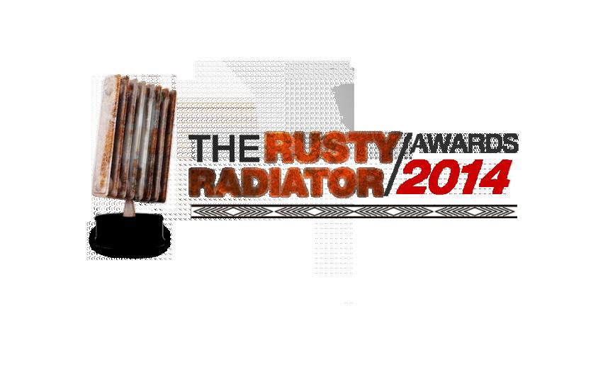 Rusty Radiator Awards 2014