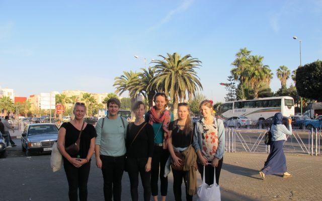 Hodebry for marokkansk politi da over 60 aktivister gjestet okkuperte Vest-Sahara