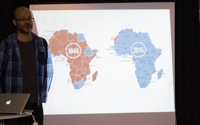 Besøk av Erik Hagen fra Støttekomiteen for Vest-Sahara