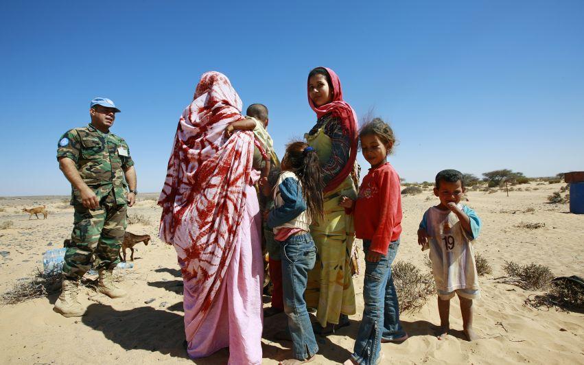 Ingen menneskerettighetsovervåkning til FN-styrken i Vest-Sahara