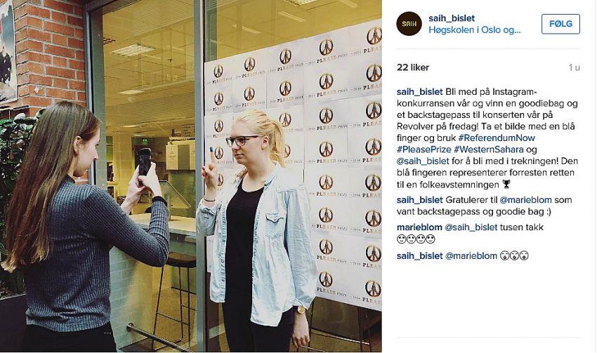 Instagram-konkurranse