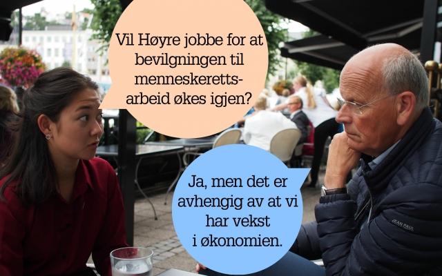 På date med Høyre