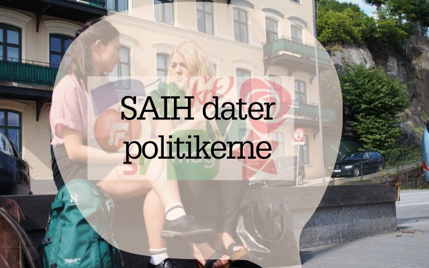 VALG 2017: SAIH dater politikerne