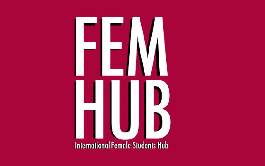INTERNATIONAL FEMALE STUDENTS JOIN HANDS
