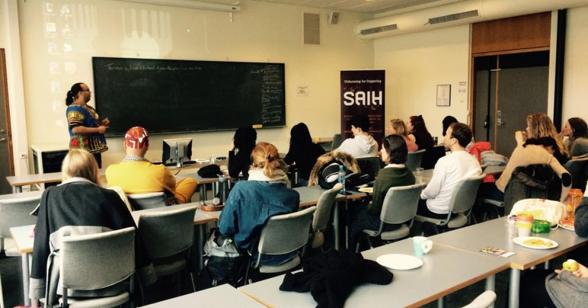 SAIH lunch seminar on racism and stereotypes