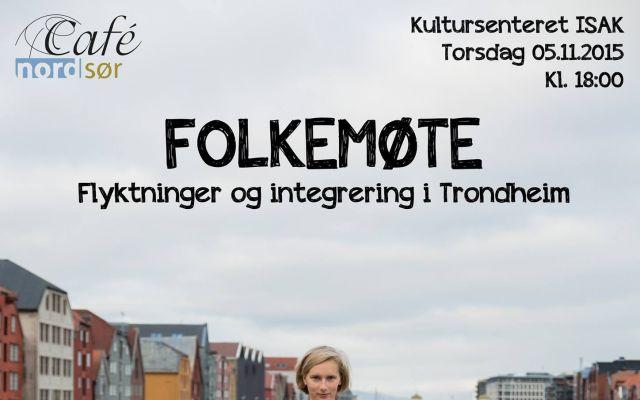 Folkemøte om flyktninger og integrering i Trondheim