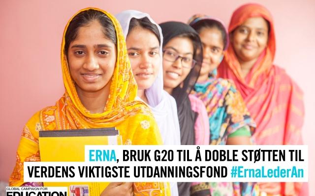 Norge gjest hos G20: Vil Erna lede an?