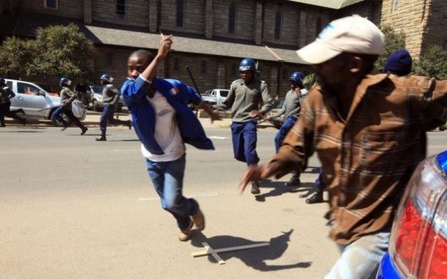 Politisk kaos i Zimbabwe