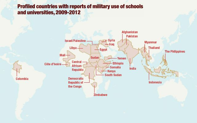 Global Campaign for Education calls on states to protect schools and universities from military use