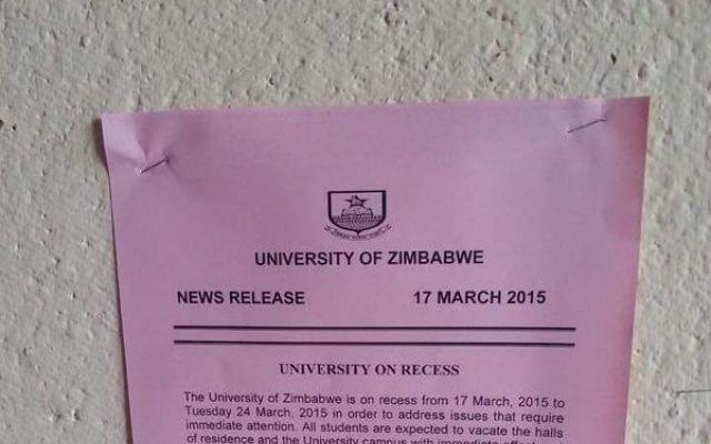 Ansatte uten lønn, studenter uten mat: Stor demonstrasjon i Zimbabwe