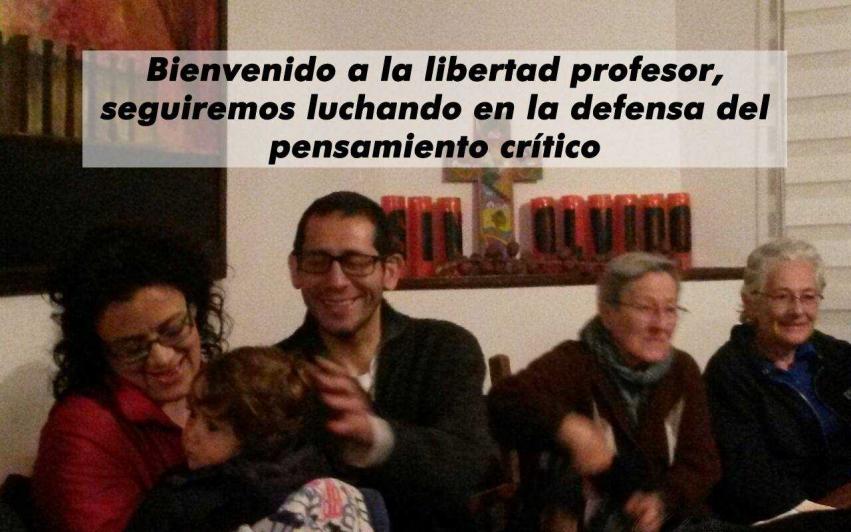 Universitetsprofessor løslatt i Colombia