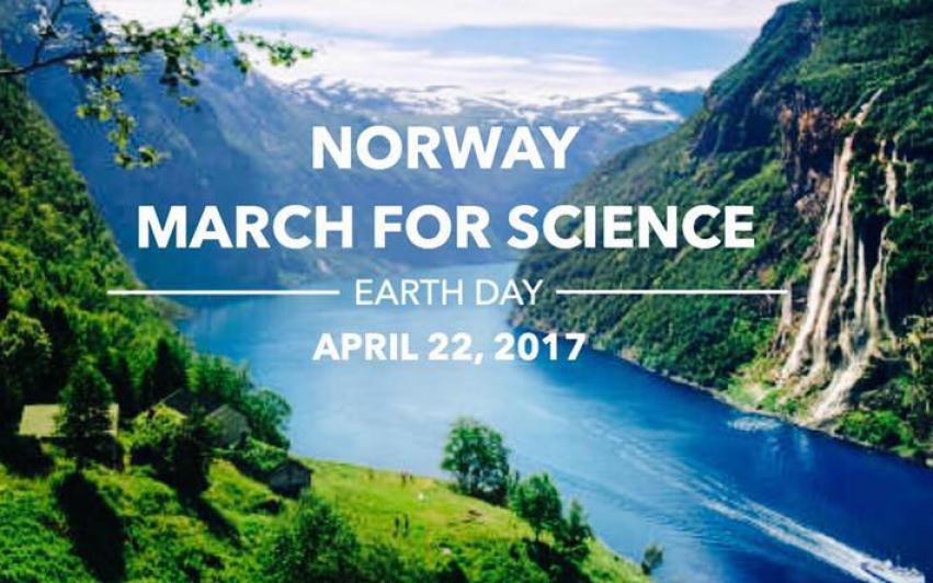 SAIH deltar på March for Science