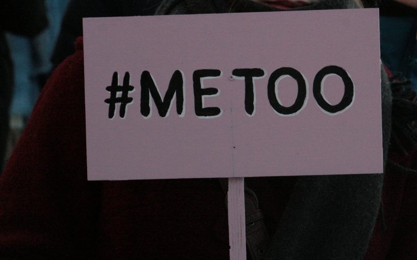 How is the #MeToo campaign reflected in South Africa?
