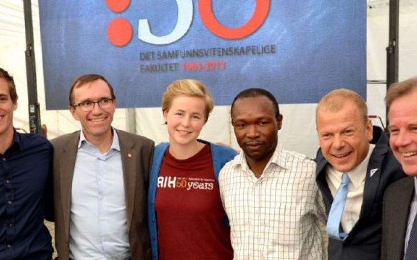 Norge tar globalt ansvar for forfulgte studenter