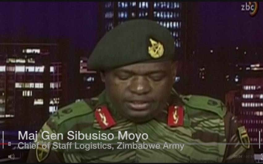 Militærkupp eller internoppgjør i Zimbabwe?