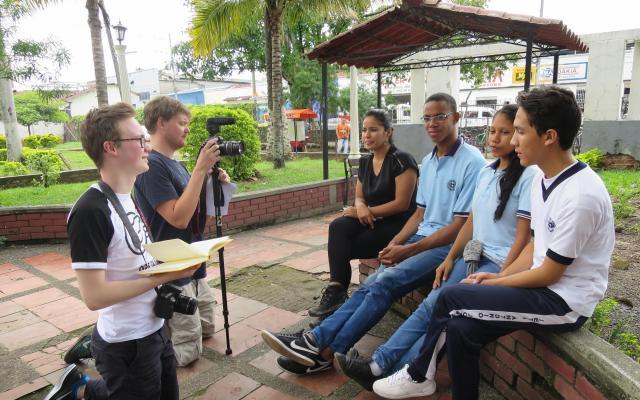 Med Operasjon Dagsverk til Colombia
