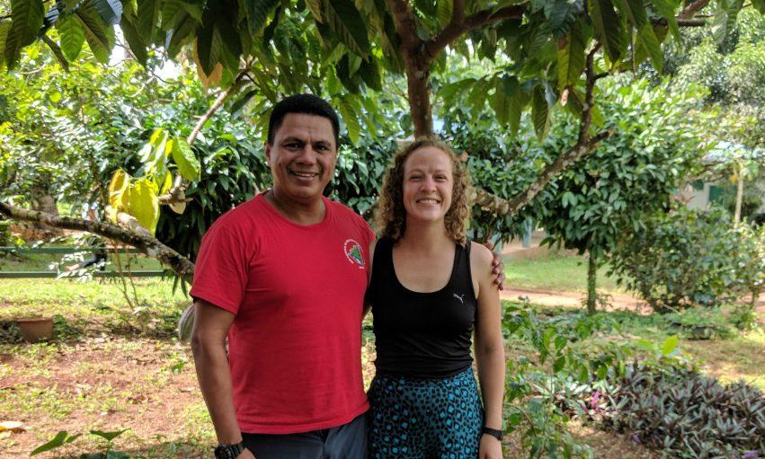 Nicaragua Wawashang Ingrid Vonen Med Rektor Silver Borge