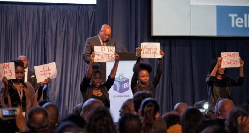Remember Khwezi Protest 1In9