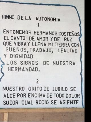 Autonomi Hymne URACCAN Nicaragua