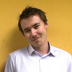 Aksel S. Noonan, på FK-utveksling i Zimbabwe