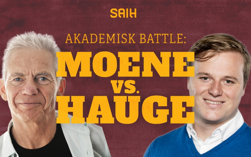 Akademisk battle: Moene vs. Hauge
