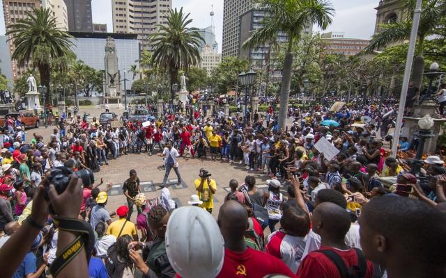 Studentaktivister hyllet i 20 år