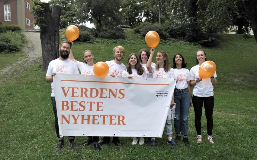 Verdens Beste Nyheter søker frivillige!