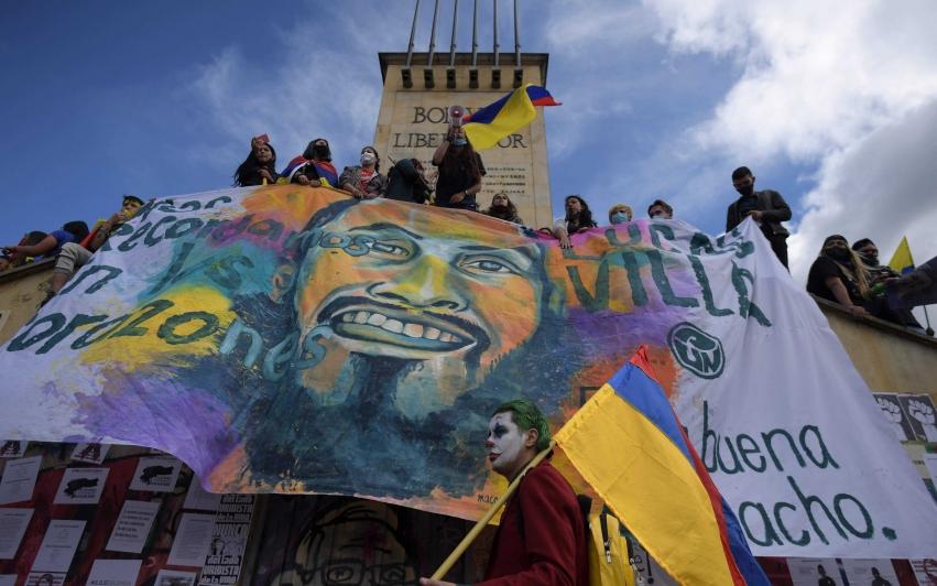 Kriminaliseringen av studentaktivisme i Colombia